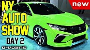 Auto Show Internacional de Nueva York, segundo día, en  Fast Lane Daily