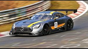 La nouvelle Mercedes AMG GT3 en tests sur le Nürburgring