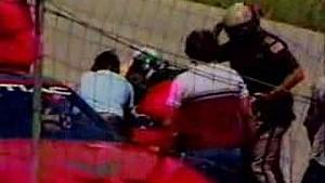 Man steals pace car at NASCAR race