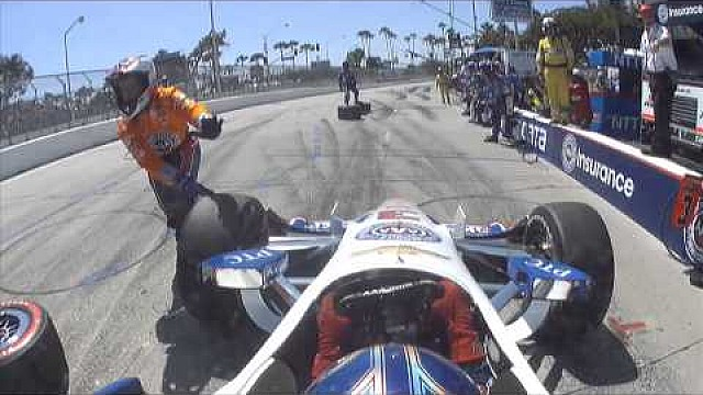 On Board - L'IndyCar à Long Beach en caméra embarquée