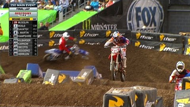 250SX Main Event Highlights - East Rutherford 2015 Supercross
