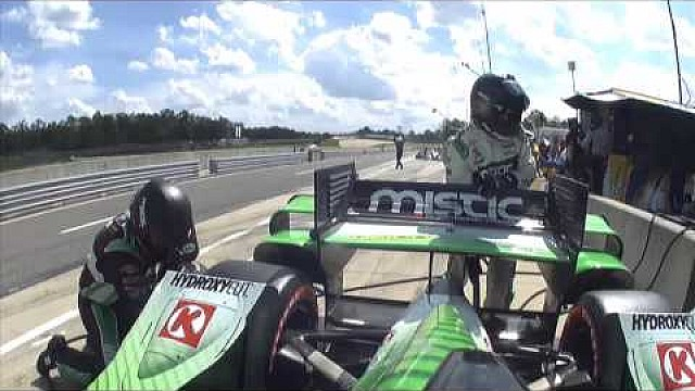 On Board - La course IndyCar en Alabama