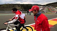 Drivers Track Walk - Spa