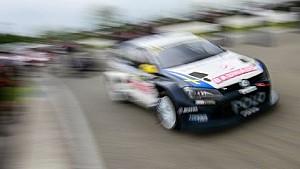 Choque entre Kristoffersson y Jeanney: Hockenheim RX - FIA World Rallycross Championship