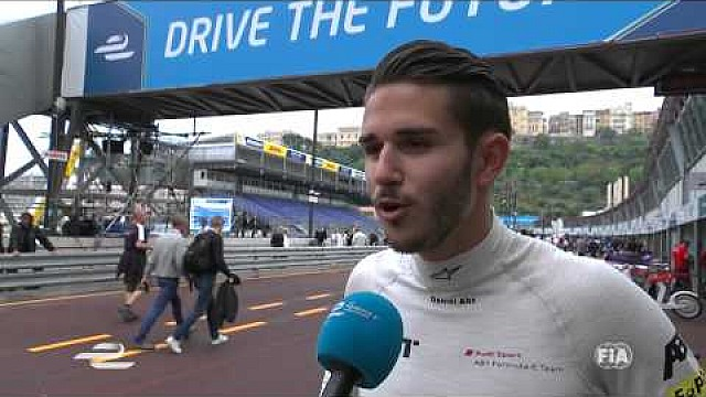 Monaco ePrix - Daniel Abt excited to be back racing in Europe