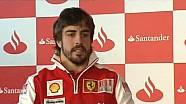 Fernando Alonso al Gala Solidaria Santander 2010
