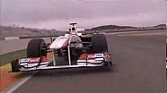 Lo shakedown della Sauber C30