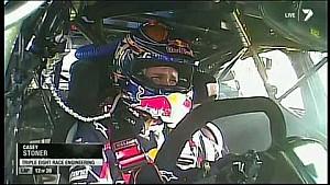 Casey Stoner first V8 race crash