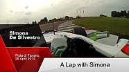 A Formula One Lap with Simona De Silvestro