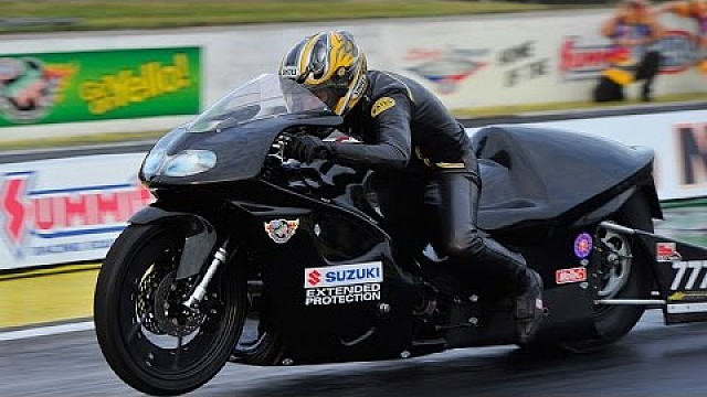 Karen Stoffer is the No. 1 qualifier in Atlanta | #NHRA