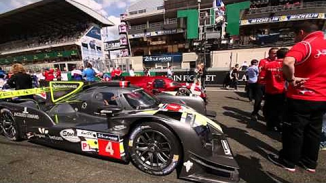 The virtual starting grid of Le Mans 2015