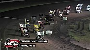 Highlights: World of Outlaws Sprint Cars Crawford County Speedway June 12th, 2015