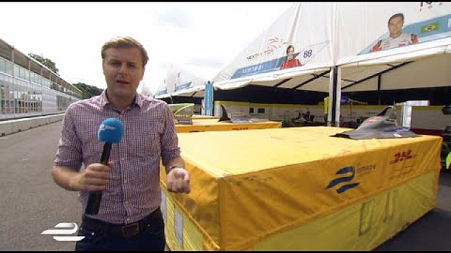 Inside the Visa London ePrix pitlane with Jack Nicholls