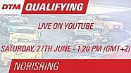 DTM Norisring 2015 - Qualifying (Race 1) - Live Stream