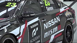 Nissan PlayStation GT Academy livery unveil