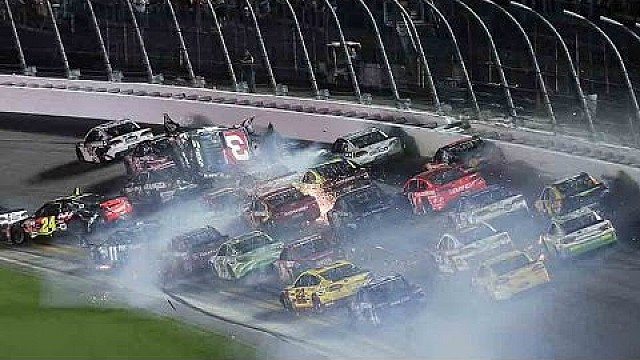 Austin Dillon y su horrible accidente
