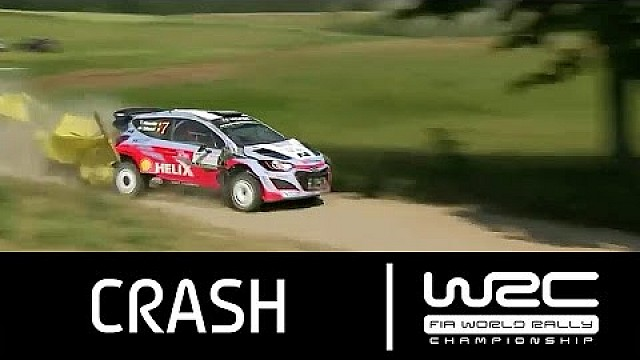 Rally Poland 2015: CRASH Neuville