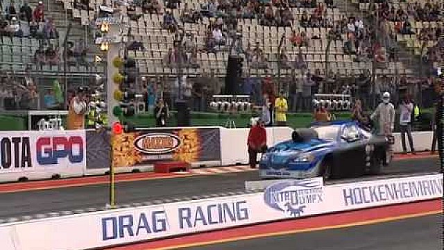 2011 European Drag Racing at Hockenheim - Prog 2