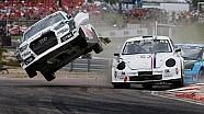 FIA World Rallycross Championship - Anton Marklund crash