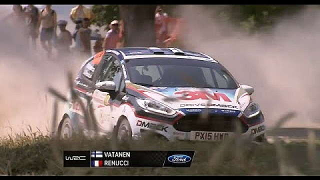Drive DMACK Fiesta Trophy Poland 2015: Sunday Highlights