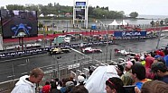 From the grandstand: Toronto Indy start from turn 3