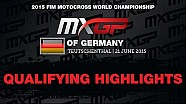 MXGP of Germany  Qualifying Race Highlights 2015