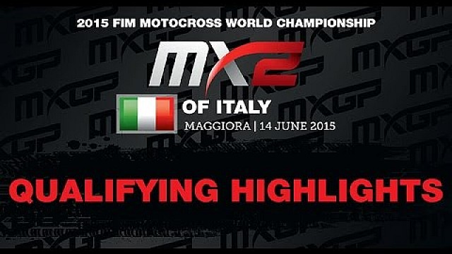 MXGP of Italy MX2 Qualifying Race 2015 - motocross