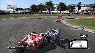 MotoGP 15 - Indianapolis Motor Speedway gameplay footage