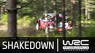 Crash de Thierry Neuville au Shakedown en Finlande