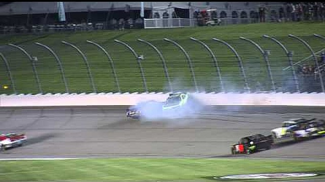 De Chase Elliott y accidente Brandon Jones en Iowa