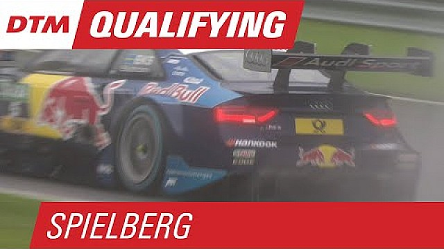 Ekström Races to Pole on Rainy Red Bull Ring - DTM Spielberg 2015