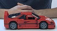 Construire sa propre Ferrari F40 en LEGO, c'est possible!