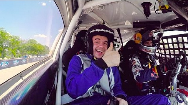 Pro gamer NaDeSHoT's ultimate rallycross experience