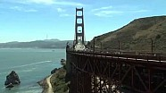 Carros da Indy passeiam pela Golden Gate por Justin Wilson