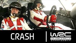 Rally Australia 2013: CRASH Kris Meeke