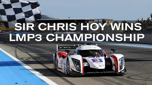 Sir Chris Hoy wins LMP3 - his first motorsport championship!