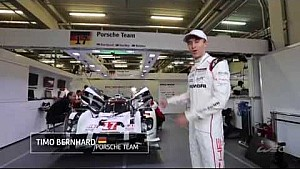 Timo Bernhard takes us for a tour behind the scenes at the Porsche