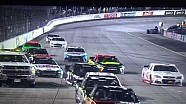 Michael McDowell hits safety truck at Richmond