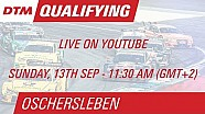 DTM Oschersleben 2015 - Qualifying (Race 2) - Live Stream