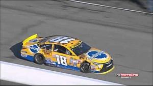 NASCAR Sprint Cup 2015 New Hampshire Kyle Busch Crashes