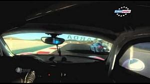 Different angles of the Navarra 2015 big crash between Jules Gounon and Joffrey De Narda