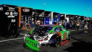Gros crash pour Danica Patrick et David Ragan au New Hampshire