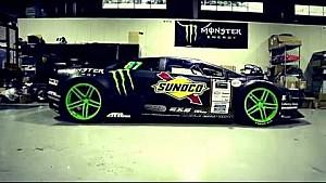 Monster Energy: World's First Lamborghini Drift Car