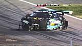 Heftiger Crash beim Start zum GT-Masters-Rennen in Hockenheim