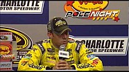 Matt Kenseth polestar press conference at Charlotte