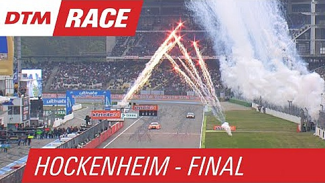 Audi Secure Triple-Victory as Fireworks go off! - DTM Hockenheim - Finale 2015
