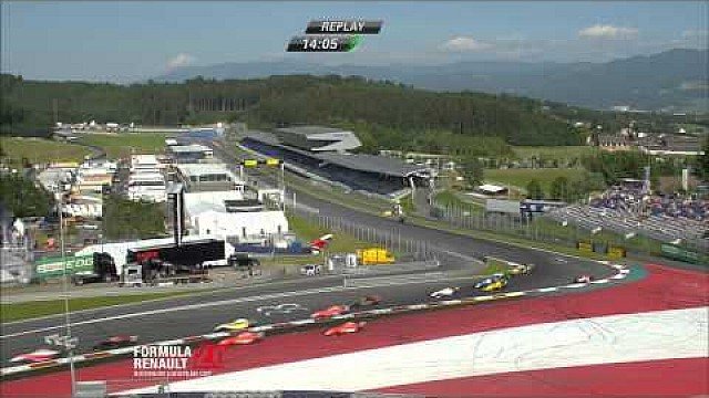 Race 3 Red Bull Ring - Formula Renault 2.0 Northern European Cup 2015