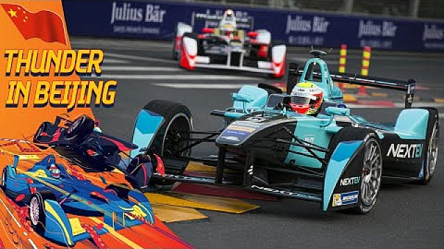 Incident-Packed Practice Highlights - (Beijing ePrix)