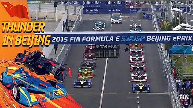 Frantic Start To Season 2's Beijing ePrix