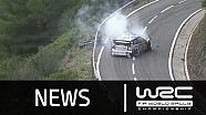 Rally de España 2015: Power Stage/ Ogier CRASH
